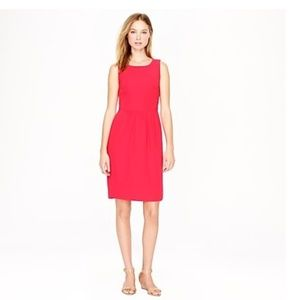 J. Crew Camille Coral Dress Size 8